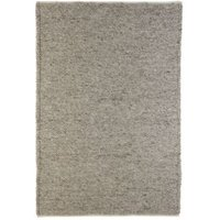 Colours Claudine Grey Thick Knit Rug (L)2.3M (W)1.6 M