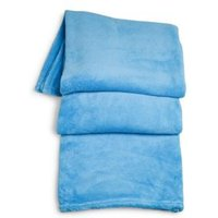 Supersoft Blue Fleece Throw
