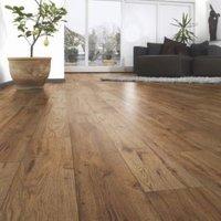 Ostend Natural Oxford Oak Effect Laminate Flooring Sample