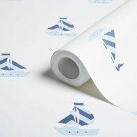 Blue Little Sailor Wallpaper.