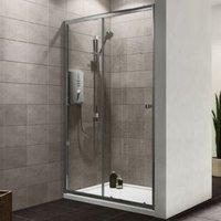 Plumbsure Single Sliding Shower Door (W)1200mm