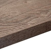 38mm Mountain Timber Laminate Wood Effect Square Edge Breakfast Bar (L)3000mm (D)665mm