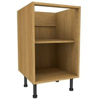 Cooke & Lewis Oak effect Standard Base cabinet (W)500mm