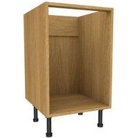 Cooke & Lewis Oak effect Multi-drawer Base cabinet (W)500mm