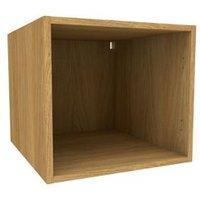 Cooke & Lewis Oak effect Deep bridging Wall cabinet (W)500mm
