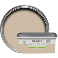 Colours Standard Taupe Silk Emulsion Paint 2.5L