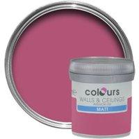 Colours Standard Petunia Matt Emulsion Paint 0.05L Tester Pot