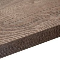 38mm Mountain timber Wood Effect Square edge Laminate Internal curve corner section worktop (L)0.95m (D)950mm