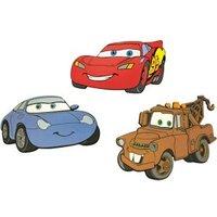 Decofun Cars Self Adhesive Wall Stickers (L)300mm (W)175mm