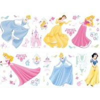 Disney Princess Self Adhesive Wall Stickers (L)700mm (W)250mm