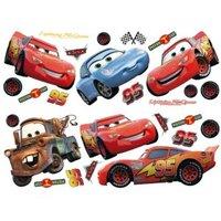Decofun Cars Self Adhesive Wall Stickers (L)720mm (W)250mm