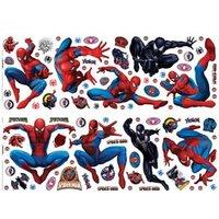 Marvel Spiderman Self Adhesive Wall Stickers (L)700mm (W)250mm