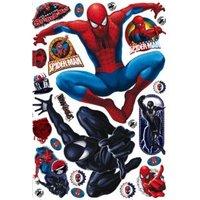 Marvel Spiderman Self Adhesive Wall Stickers (L)1m (W)700mm