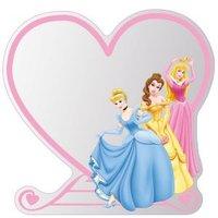 Disney Unframed Heart Children's Mirror (H)300mm (W) 300mm