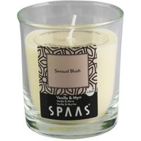 Spaas Vanilla & myrr Glass candle Small