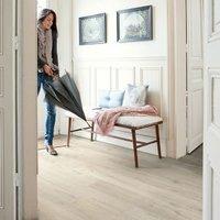 Quick-step Aquanto Light grey Laminate flooring  1.84m² Pack