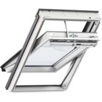 White Timber Centre Pivot Roof Window (H)1600mm (W)940mm