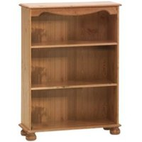 Malmo Stained 2 Shelf Bookcase (H)1021mm (W)767mm (D)270mm