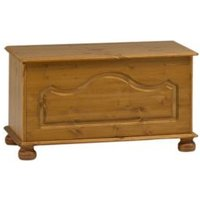 Malmo Stained Pine Ottoman (H)450mm (W)828mm (D)417mm