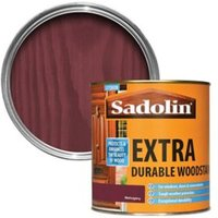 Sadolin Mahogany Conservatories doors & windows Wood stain 1L