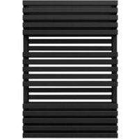 Terma Quadrus Metallic Black Towel Warmer (H)870mm (W)600mm