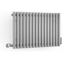Terma Rolo Room Horizontal Designer radiator Salt n Pepper Powder Paint (H)500 mm (W)865 mm