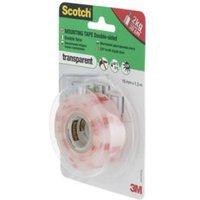 Scotch Clear Mounting Tape (L)1.5m (W)19mm