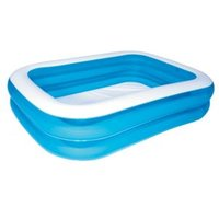 Bestway Rectangular Plastic Family Swimming pool 2.01 x 1.5 x 0.5m