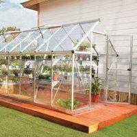 Palram Harmony 6x14 Polycarbonate Apex Greenhouse