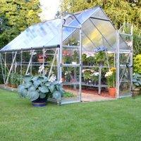 Palram Balance 8x12 Polycarbonate Apex Greenhouse