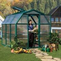 Rion Eco Grow 6X6 Acrylic Glass Twin Wall Greenhouse