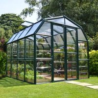 Rion Grand Gardner 8X8 Acrylic Glass Greenhouse