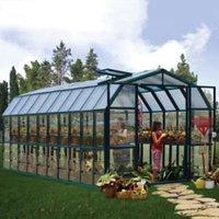 Rion Grand Gardner 8x20 Acrylic Barn Greenhouse