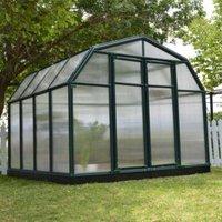 Rion Hobby Gardner 8X8 Acrylic Glass Twin Wall Greenhouse