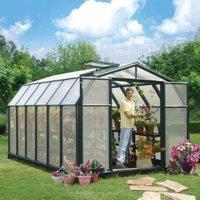 Rion Hobby Gardner 8x12 Acrylic glass Twin Wall greenhouse