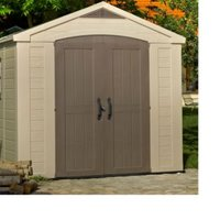 8X6 Factor Apex Plastic Shed