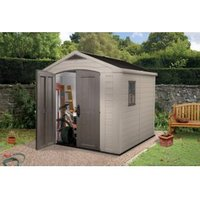 8X8 Factor Apex Plastic Shed