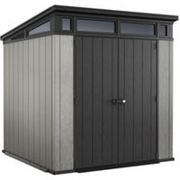 Keter Artisan 7x7 Pent Tongue and groove Plastic Shed (Integrated base)