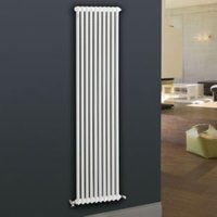 Acova 2 Column radiator  White (W)306mm (H)2000mm