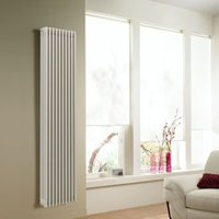Acova 4 Column radiator  White (W)306mm (H)2000mm