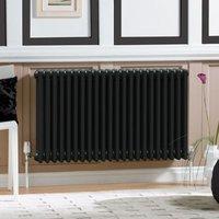 Acova 3 Column radiator  Volcanic (W)1226mm (H)600mm