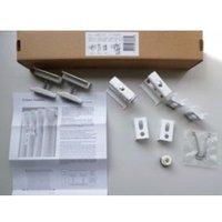 Acova White powder coated Spare multi-column brackets (H)58mm (D)55mm