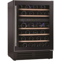 Hoover HWCB60UK Black Stainless steel effect 46 bottles