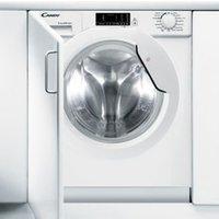 Candy CBWD 8514D-80 White Built-in Condenser Washer dryer 8kg/5kg.