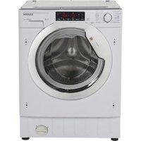 Hoover HBWMO 96TAHC-80 White Built-in Washing machine 9kg at B&Q DIY