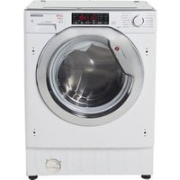 Hoover HBWDO8514TAHC80 White Builtin Condenser Washer dryer 8kg/5kg