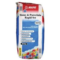 Mapei Fast Set Ready mixed White Tile Powder Adhesive 20kg