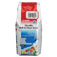 Mapei Flexible White Wall & floor Grout 2.5kg
