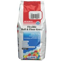 Mapei Flexible Black Wall & floor grout (W)2.5kg