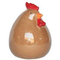 Verve Brown Chicken Garden Ornament